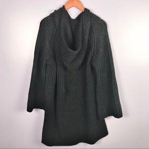 -Anthro- Moth Size Large Oversized Tunic Sweater